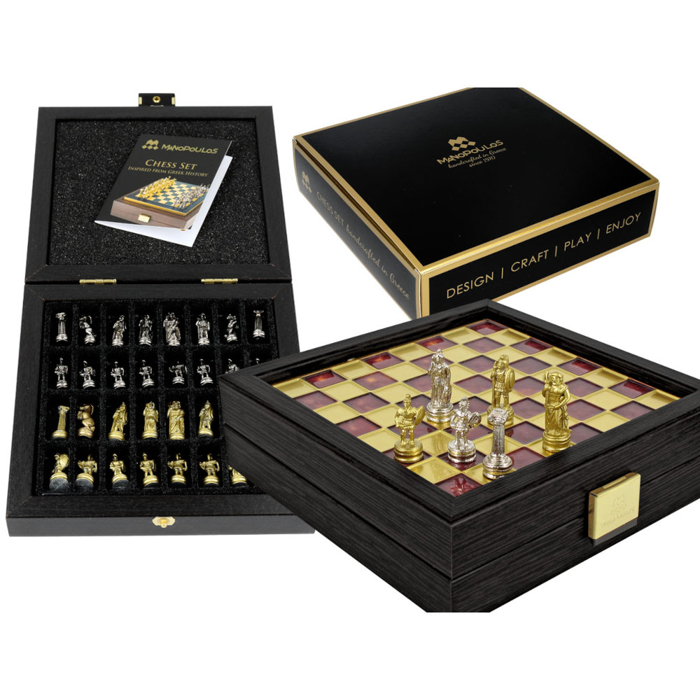 Szachy Manopulos - Soldier Chess set