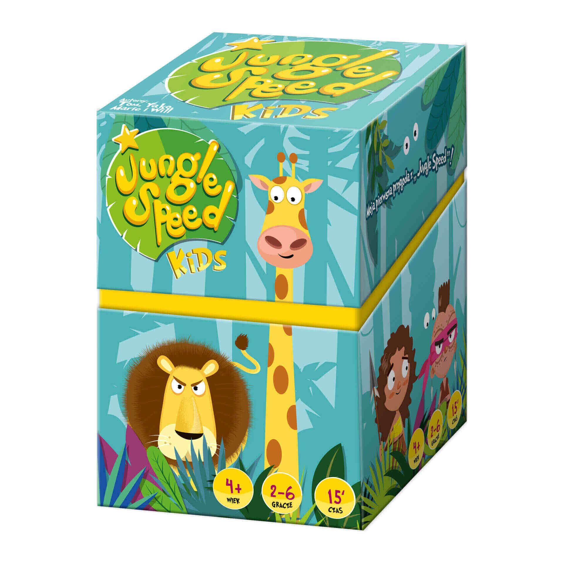 Gra familijna Jungle Speed Kids
